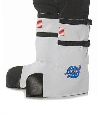 Nice NASA White Astronaut Costume Boot Tops