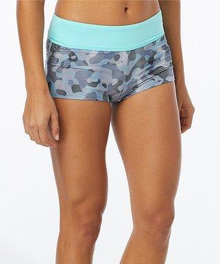 2835044ed0 Gray   Mint Lavare Della Boyshort Bikini Bottoms - Women