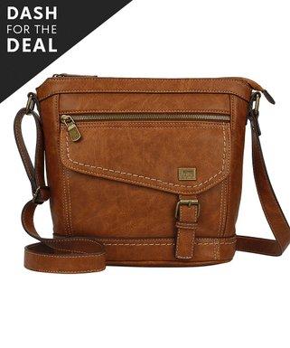 Saddle Brown Amherst Crossbody Bag 9252cf7fb45f0
