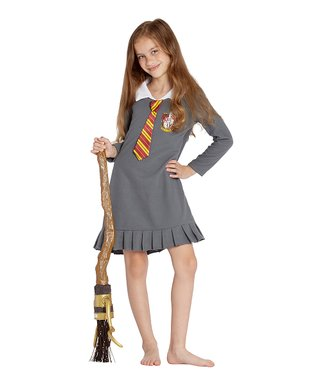 63b2bc618402b Intimo | Harry Potter Gray 'Gryffindor' Uniform Costume Nightgown - Toddler  ...