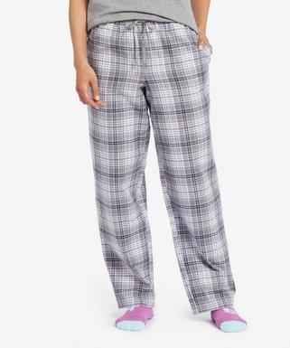 6ac65c0ed51 Life is Good® | Slate Gray Plaid Grape Classic Pajama Pants - Women & Plus