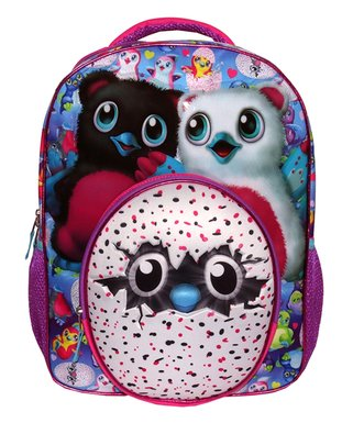 8d83ae4aea5 Spin Master | Hatchimals Pink & Blue 3D Molded Backpack