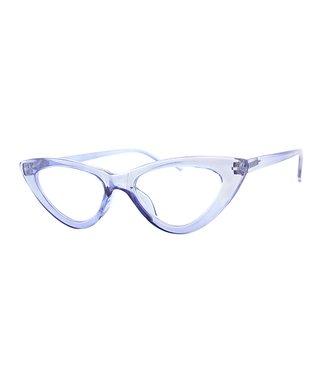 86ccfa4a6457 A.J. Morgan   Blue Real Naughty Cat-Eye Readers