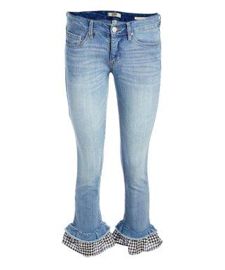 1d92068eb9474 Vintage America | Blue Wonderland Capri Jeans - Women