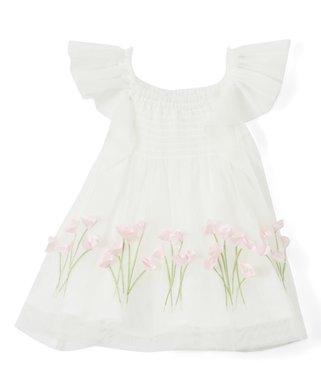 1f0a10525 Biscotti & Kate Mack | Ivory Spring Garden Smocked Dress - Infant & Toddler