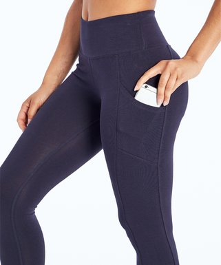9f8a7ebed9edc3 Marika   Blue Pocket Tummy-Control High-Waist Leggings - Women