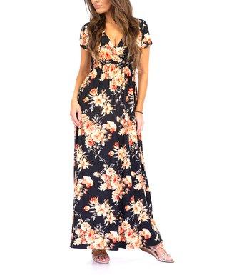 589c2f4298 Black Ruched Maxi Dress - Women