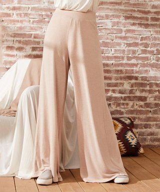 DaniChins Girl/'s Palazzo Pants Loose Wide Leg Flowy Pants