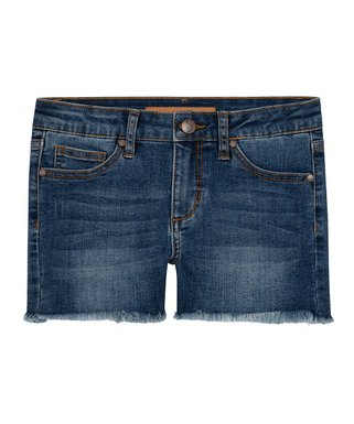 Girls Ladies Short Denim Summer Dungarees Shorts Black Stonewash Size 6-16