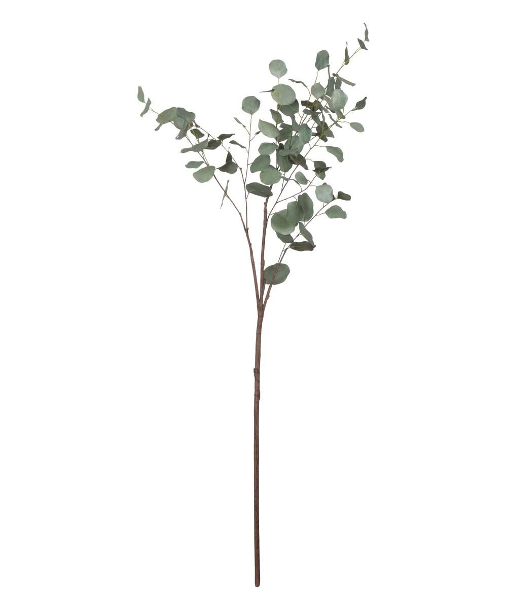Green Faux Eucalyptus Branch