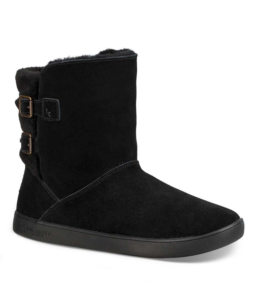 8f1f5509041 Koolaburra by UGG® Black Amarah Sheepskin & Suede Boot - Women