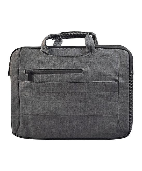Digital Basics  Laptop Computer Cases Grey - Gray 2-in-1 Business 13'' Laptop Bag