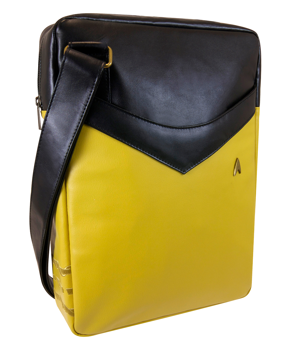 Star Trek Yellow Uniform Laptop Bag
