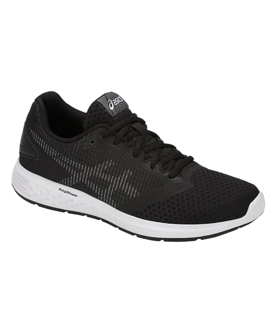 ASICS Women's Running Shoes  - Black & White Patriot 10 Running Shoe - Women