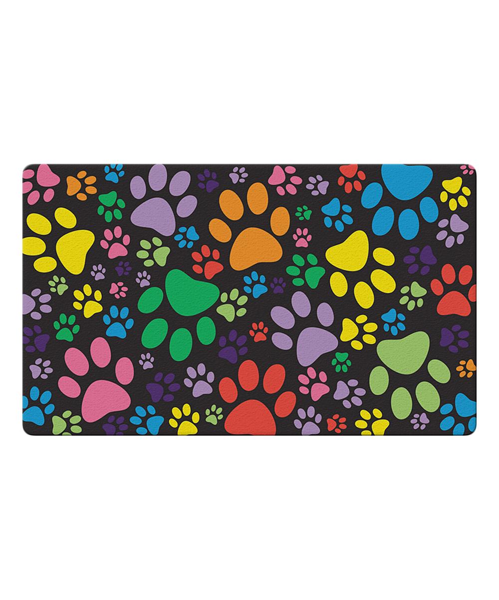 Toland Home Garden  Outdoor Mats  - Puppy Paws Door Mat