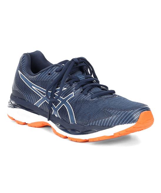 ASICS Men's Running Shoes  - Shark & White GEL-ZIRUSS 2 Grand Running Shoe - Men