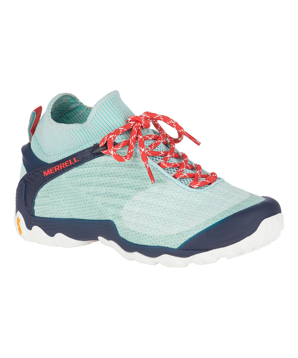 Merrell Women's Hiking Shoes CHAM - Bleached Aqua Cham 7 Hiking Shoe - Women