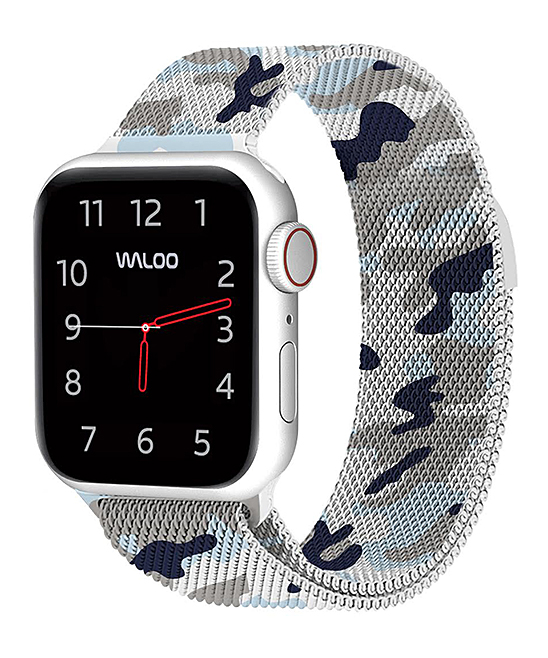 Waloo  Replacement Bands Camo - Blue Camo Loop Band for Apple Watch