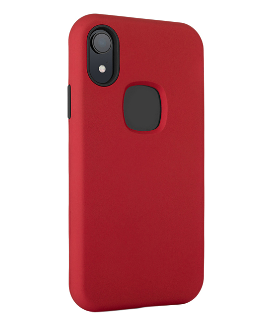 InTech  Cellular Phone Cases Red - Red 3 in 1 Protective Case For iPhone