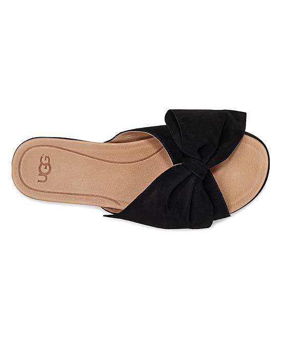 6f3fc9cbdd0 UGG® Black Joan II Suede Slide - Women