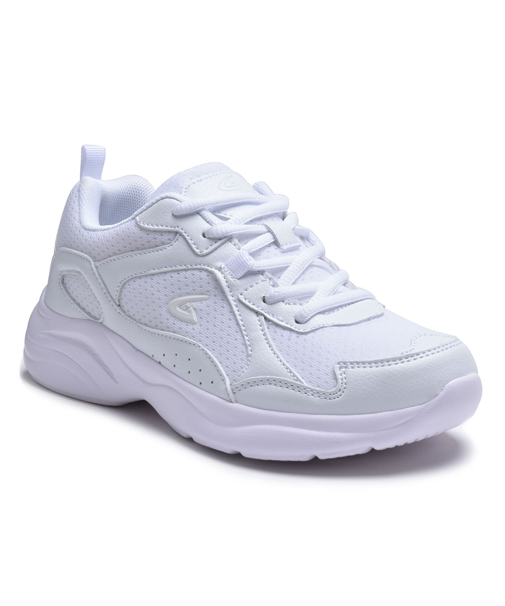 Dream Seek Women's Sneakers WHITE - White Mesh-Top Running Shoe - Women