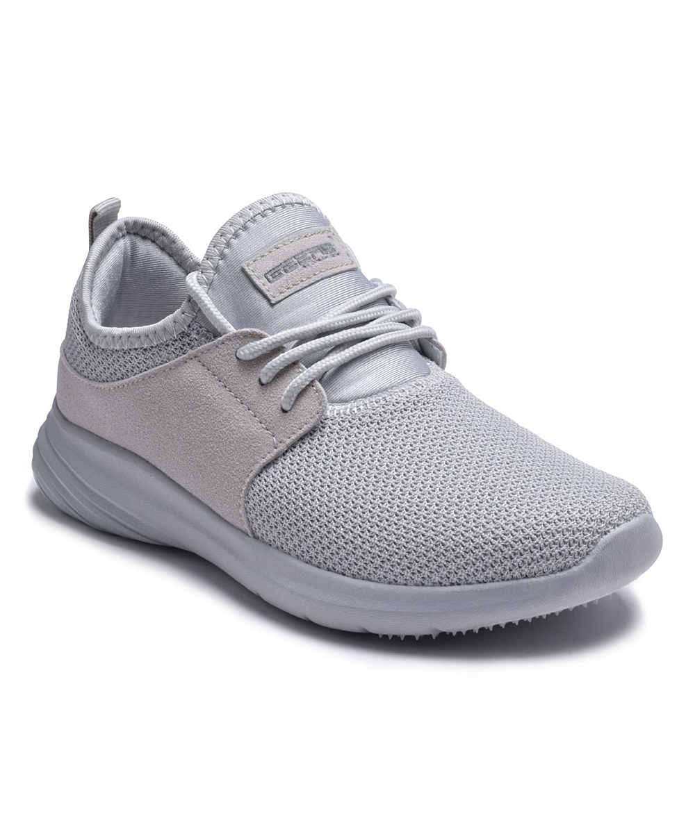 Dream Seek Women's Sneakers GREY - Gray Mesh-Top Running Shoe - Women
