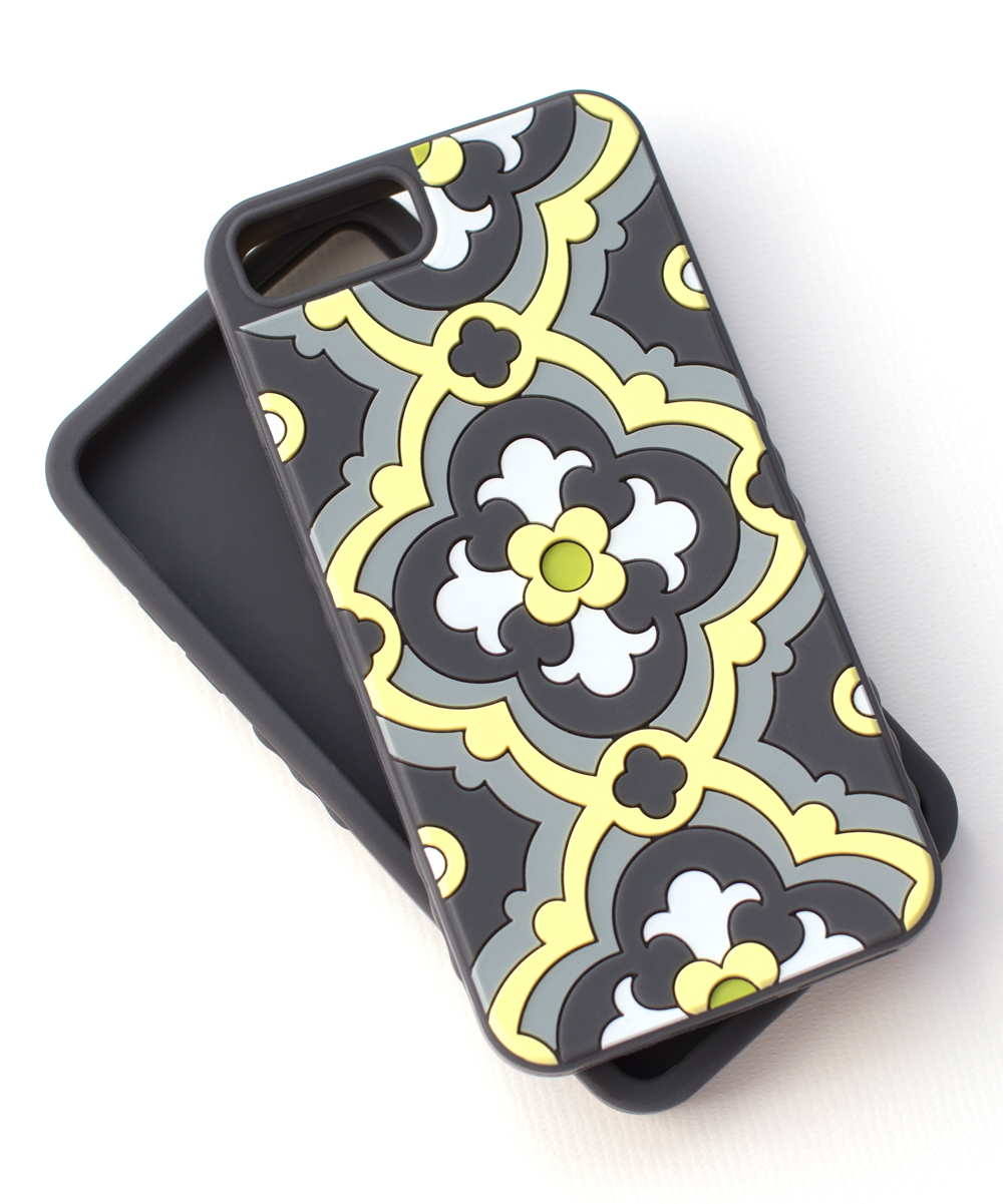 Tech Candy  Cellular Phone Cases Sunshine/Slate - Sunshine & Slate Kaleidoscopic Case for iPhone 6 Plus/6S Plus/7 Plus/8 Plus