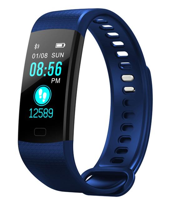 3P Experts  Smart Watches Blue - Blue Fitness Watch Bracelet