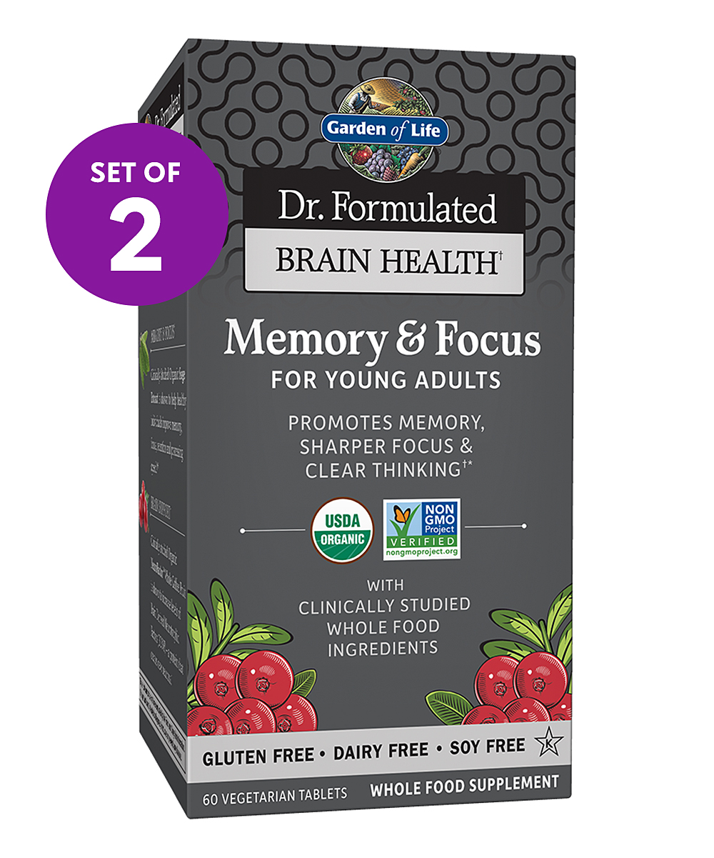 120-Ct. Brain Health Memory & Focus for Young Adults Tablets