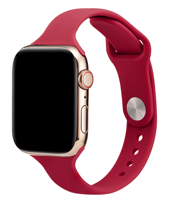 Essager  Replacement Bands Rose - Rose Red Silicone Band Replacement for Apple Watch