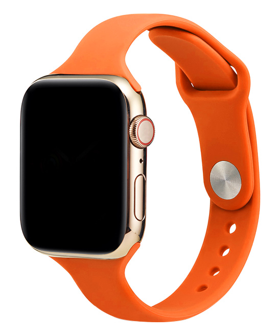 Essager  Replacement Bands Orange - Orange Silicone Band Replacement for Apple Watch
