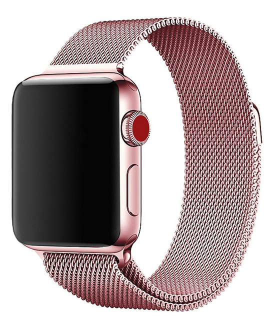 Essager  Replacement Bands Rose - Rose Gold Stainless Steel Band Replacement for Apple Watch