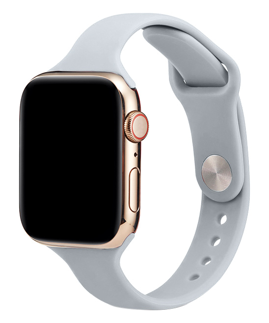Essager  Replacement Bands Light - Light Gray Silicone Band Replacement for Apple Watch