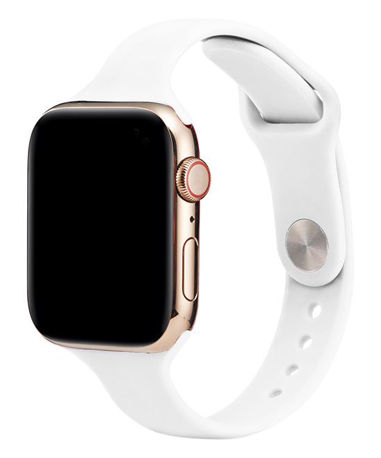 Essager  Replacement Bands White - White Silicone Band Replacement for Apple Watch