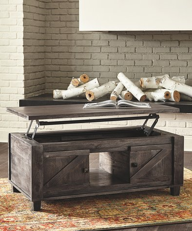 Signature Design By Ashley Furniture Chaseburg Lift Top Coffee