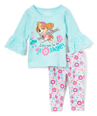 Paw Patrol Kids Long Pyjamas Dream Big Fly High 4