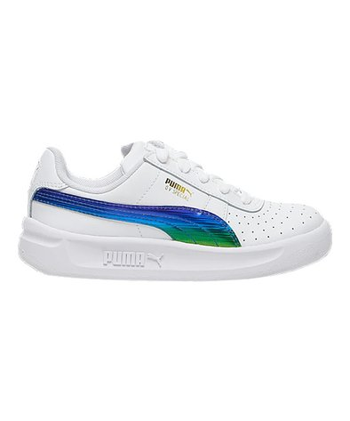 PUMA White GV Special Leather Sneaker Kids | Zulily