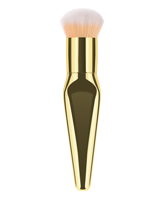 Smilewey Women's Makeup Brushes Gold - Gold Foundation Brush