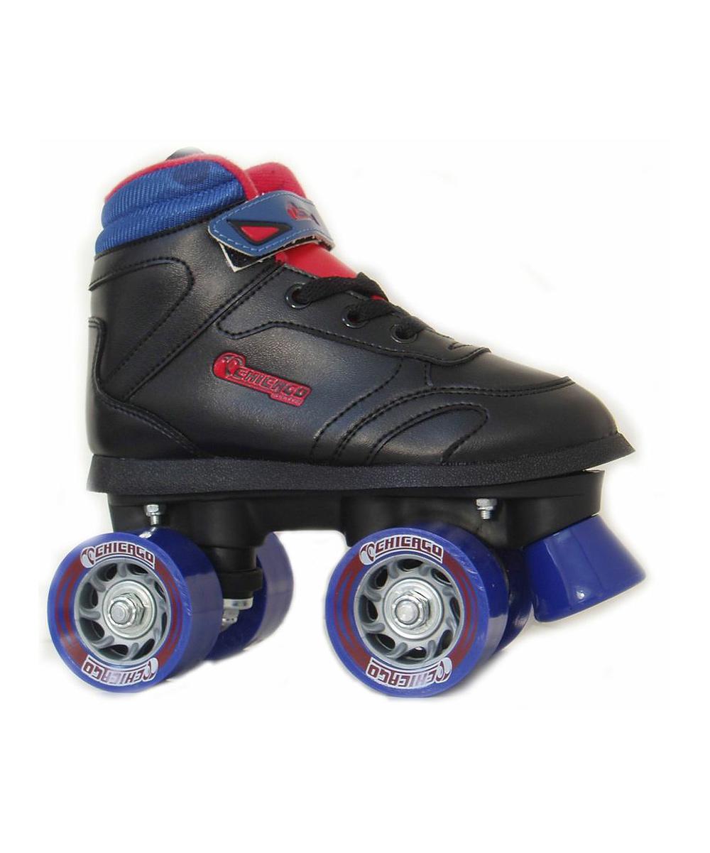 Chicago Skates Boys' Roller Skates & Blades Black - Sidewalk Skate - Kids
