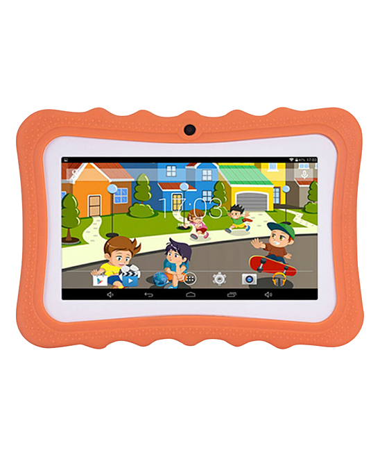 A2Z Toys Girls' Tablets Orange - Orange 7'' Kids Android Tablet