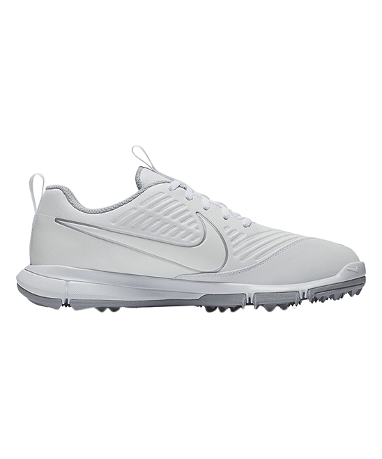 Nike Women's Golf Shoes White/White - White & Wolf Gray Explorer 2 Golf Shoe - Women