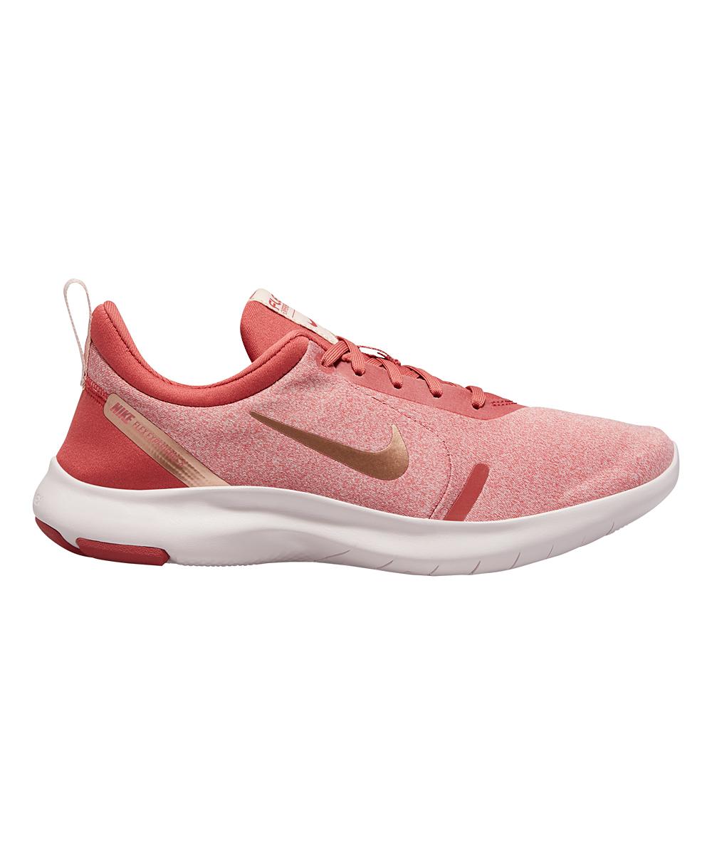 Nike Women's Running Shoes Light - Light Redwood & Metallic Red Bronze Flex Experience Run 8 Running Shoe - Women
