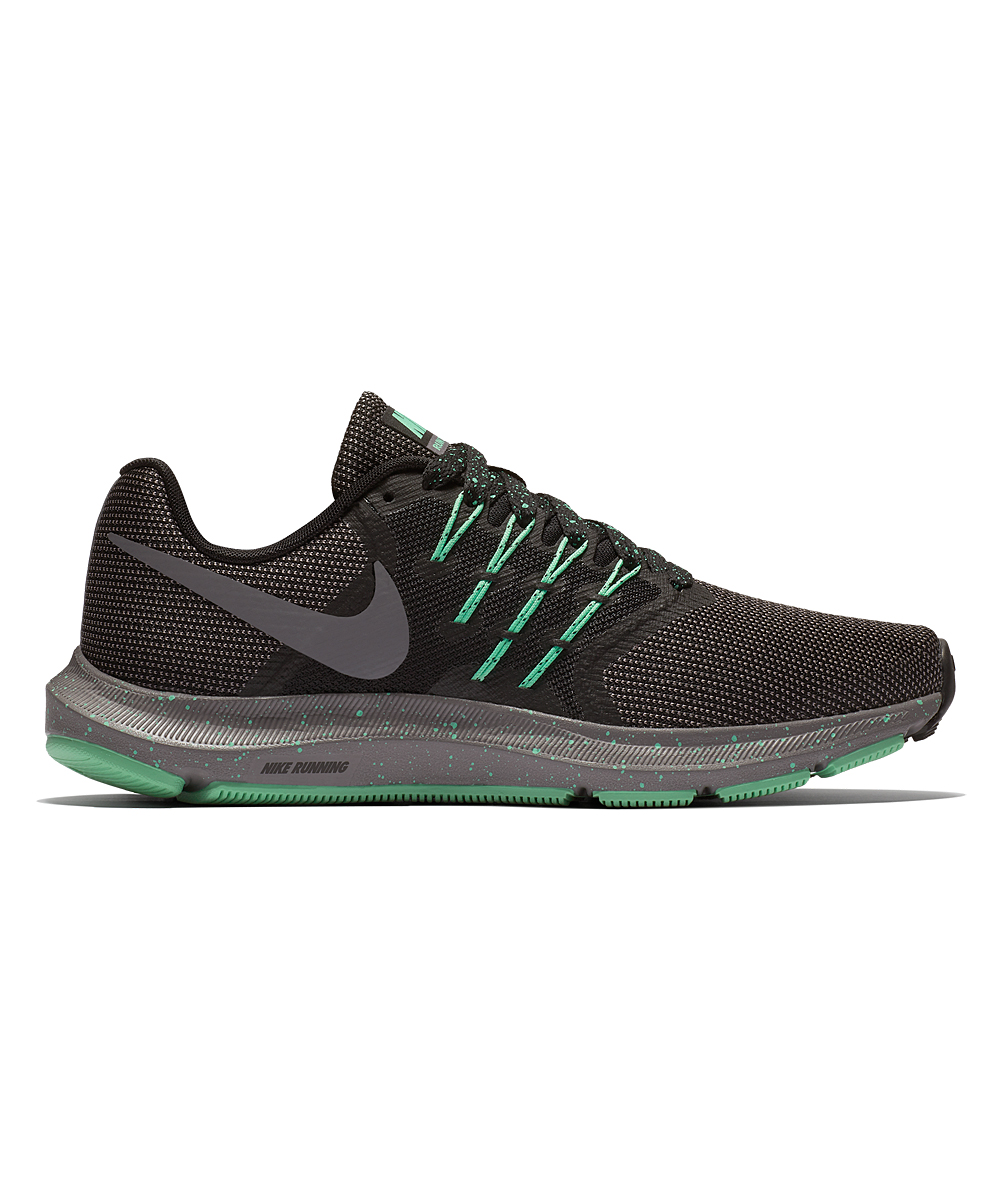 Nike Women's Running Shoes Black/Gunsmoke - Black & Gunsmoke Run Swift SE Running Shoe - Women