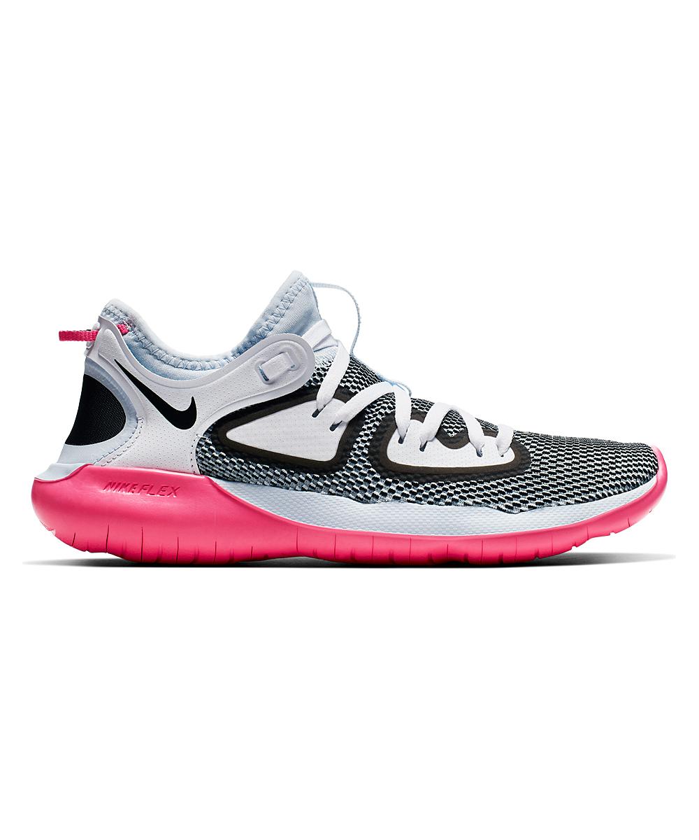 Nike Women's Running Shoes Half - Half Blue & Hyper Pink Flex 2019 Running Shoe - Women