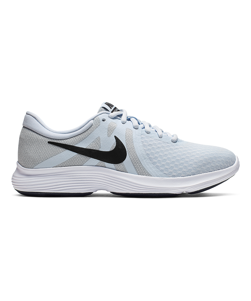 Nike Women's Running Shoes Half - Half Blue & Wolf Gray Revolution 4 Running Shoe - Women