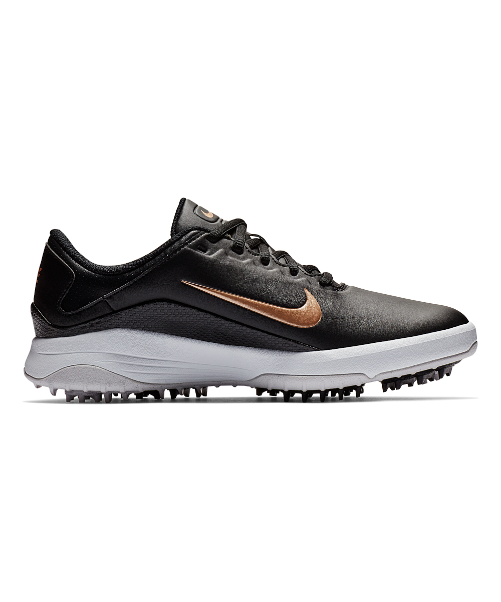 Nike Women's Golf Shoes Black/Metallic - Black & Metallic Red Bronze Vapor Golf Shoe - Women
