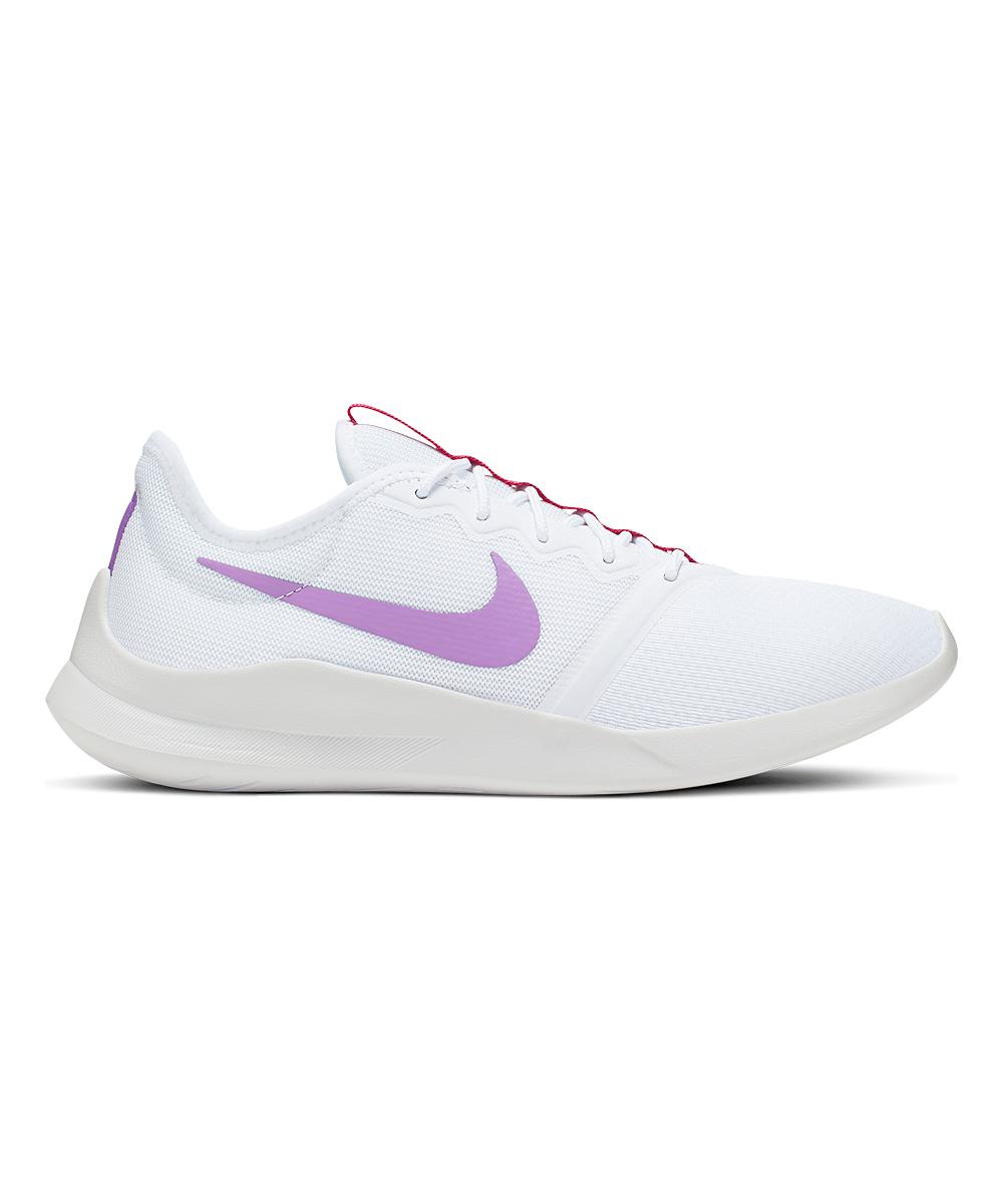 Nike Women's Sneakers White/Automic - White & Automic Purple Viale Tech Racer Sneaker - Women