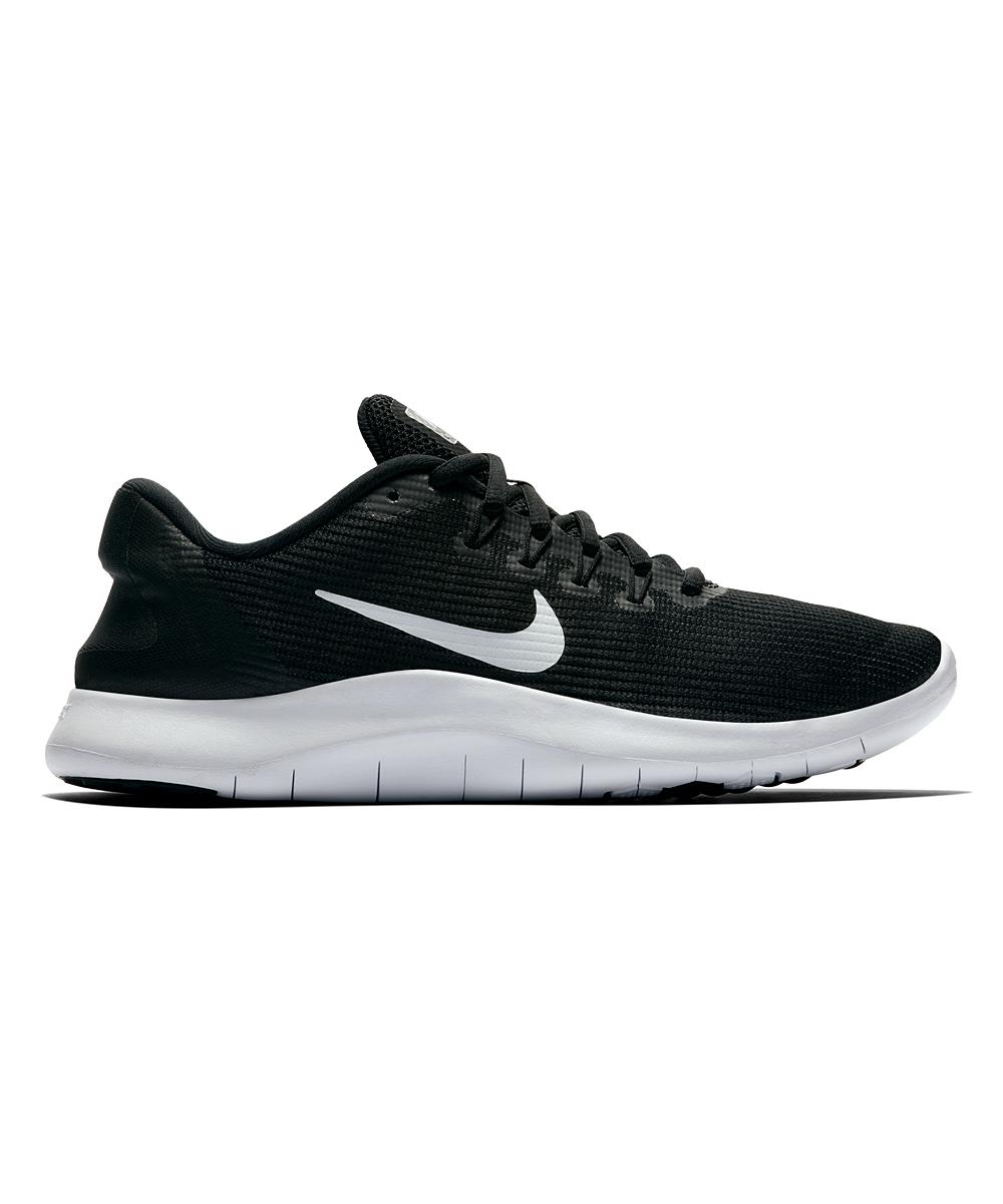 Nike Women's Running Shoes Black/White - Black & White Flex 2018 Running Shoe - Women