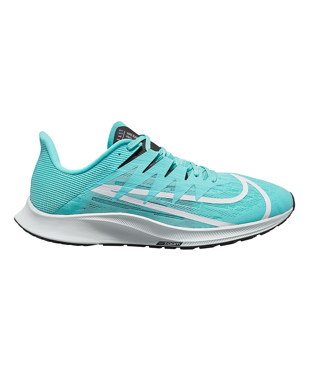 Nike Women's Running Shoes Aurora - Aurora Green & White Zoom Rival Fly Running Shoe - Women