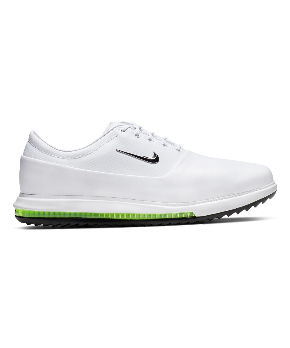 Nike Men's Sneakers White/Chrome - White & Chrome Volt Zoom Victory Tour Leather Sneaker - Men